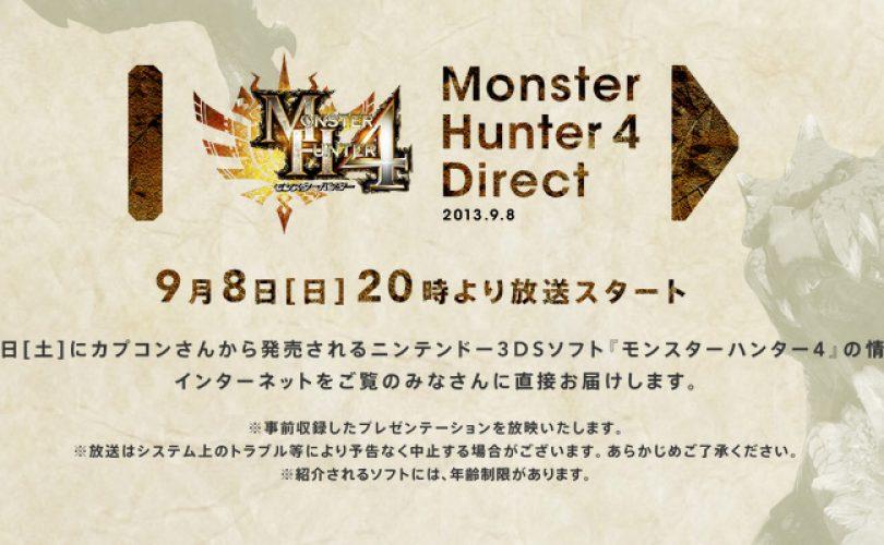 monster hunter 4 direct cover