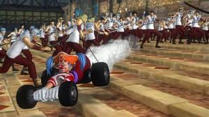 """""""Al diavolo i musou! Da oggi si cambia... fate spazio a Super Bagy Kart!"""""""