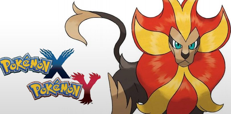 pokemon x y pyroar cover