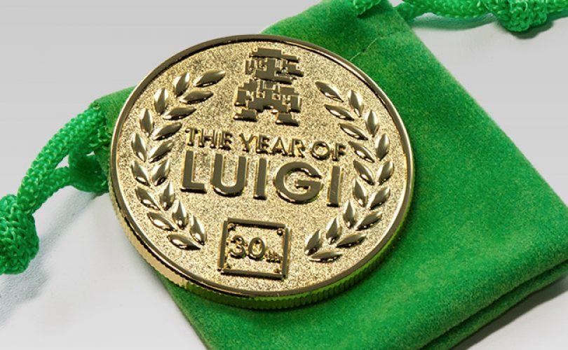 club nintendo moneta anno di luigi cover
