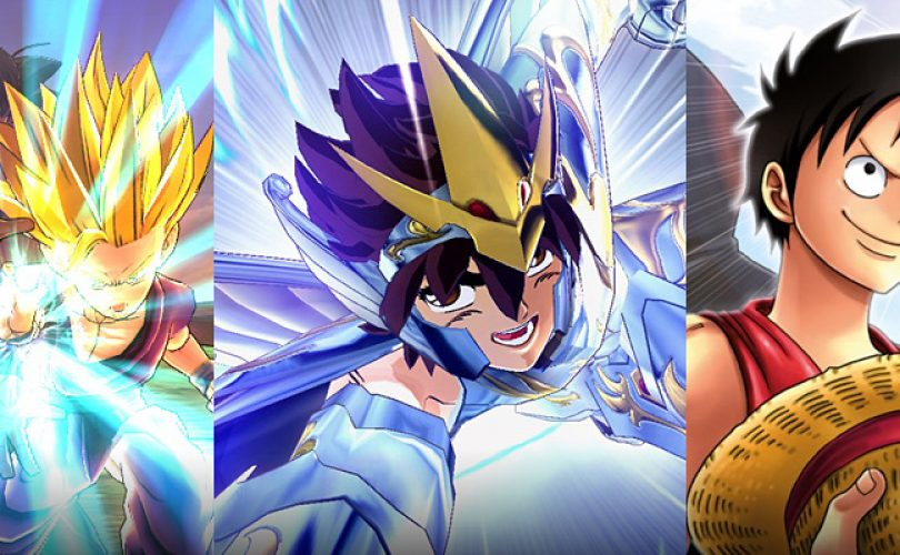 dragon ball saint seiya one piece cover
