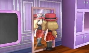 Finalmente ogni ragazza che giocherà a Pokémon X e Y potrà coronare il suo sogno nel cassetto: passare le ore guardandosi allo specchio e cambiando gli abiti, come nella vita reale.