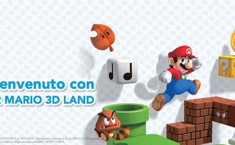 benvenuto con super mario 3D land