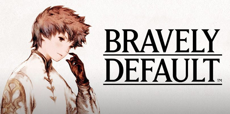 bravely default preview cover