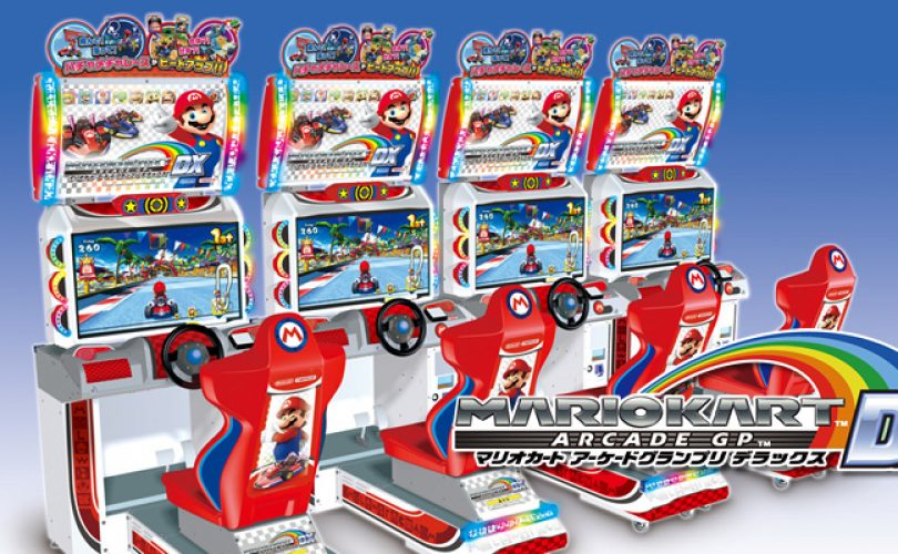 mario kart arcade gp dx cover