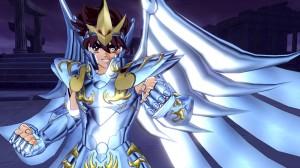 Il God Cloth di Seiya, l'unico (fin'ora) disponibile nel gioco.