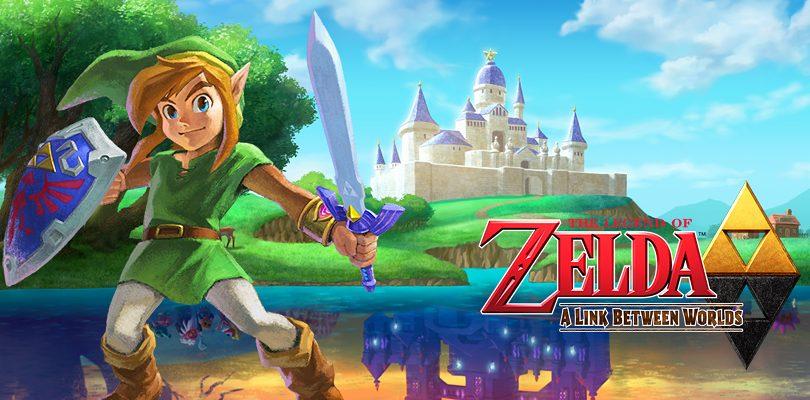 the legend of zelda a link between worlds recensione cover
