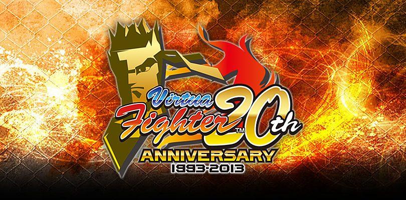virtua fighter 20th anniversary cover