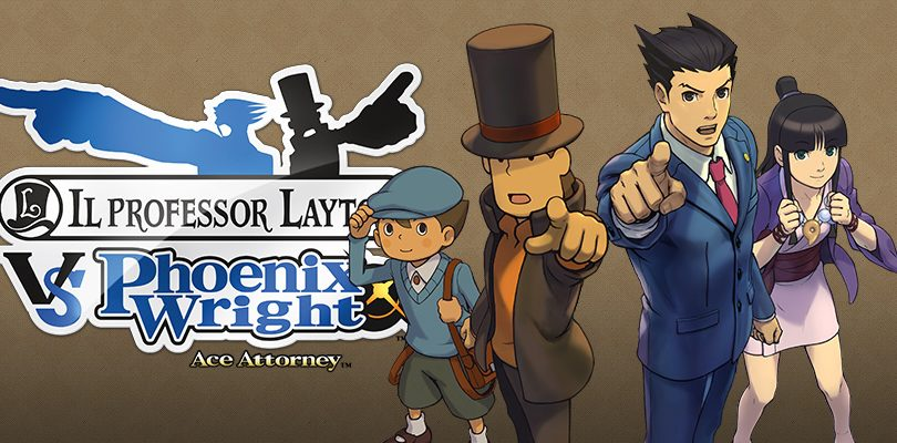 il professor layton vs phoenix wright ace attorney cover