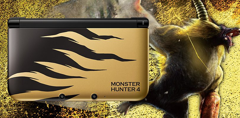 monster hunter 4 limited edition 3ds ll cover
