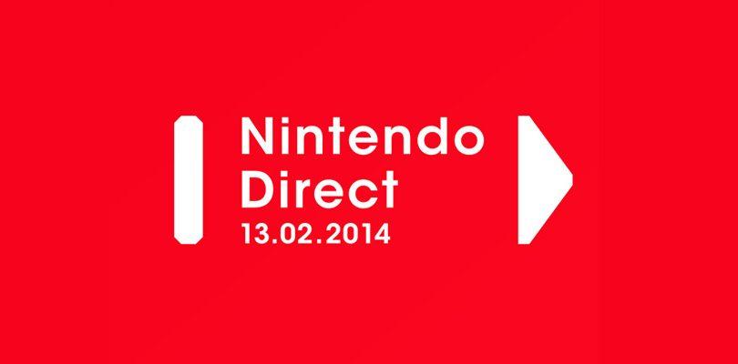 nintendo direct 13 febbraio 2014