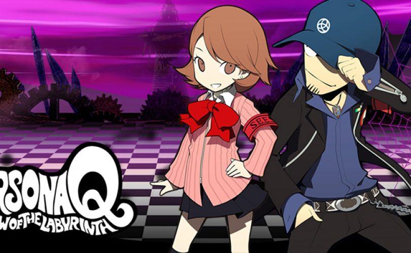persona q shadow of the labyrinth junpei iori yukari takeba cover