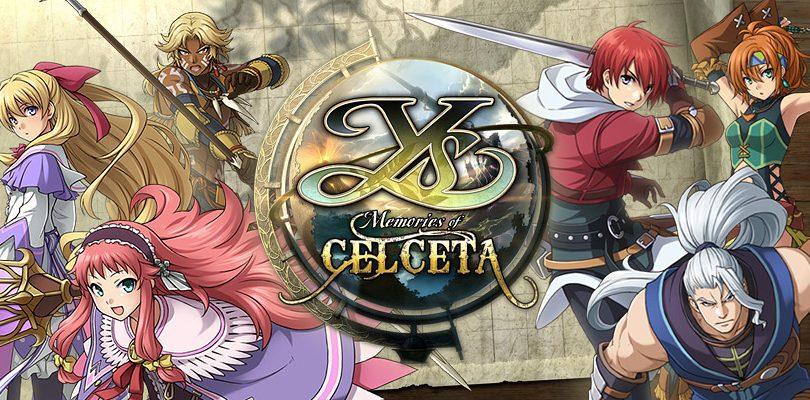 ys memories of celceta recensione cover