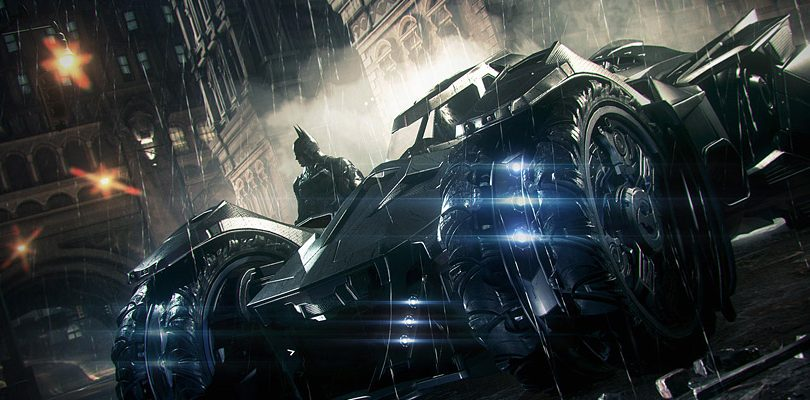 batman arkham knight batmobile cover