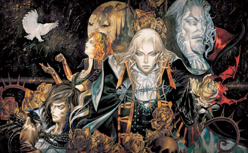 castlevania symphony of the night cover