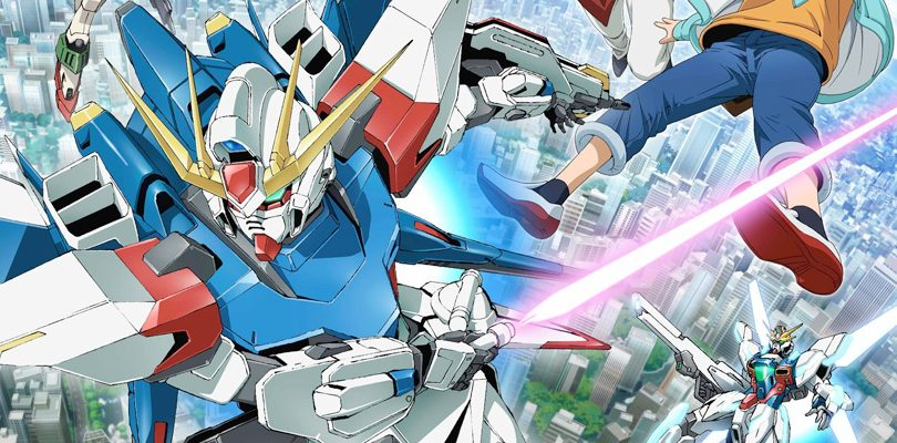 gundam build fighters cover