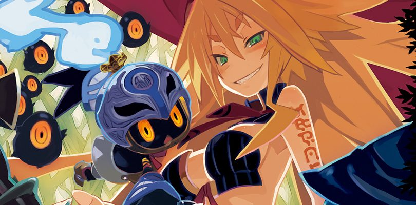 the witch and the hundred knight cover marzo 2014