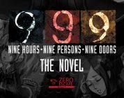 zero escape 999 the novel cover