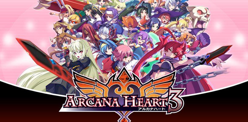 arcana heart 3 cover