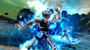 Seiya che brucia il suo cosmo su Namecc con Gintoki Sakata che lo imita sullo sfondo. Cosa c'è di più epico?