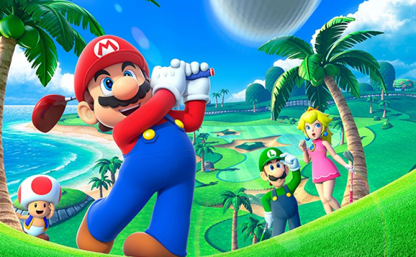 mario golf world tour cover 2