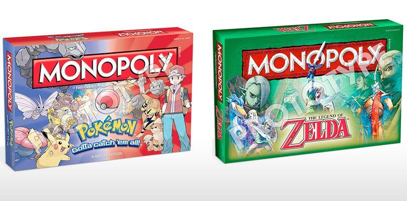 monopoly zelda pokemon cover