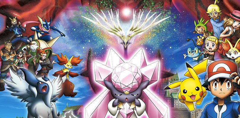 pokemon xy the movie diancie cover