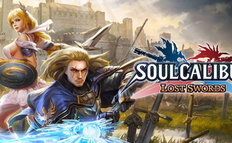 soulcalibur lost swords recensione cover