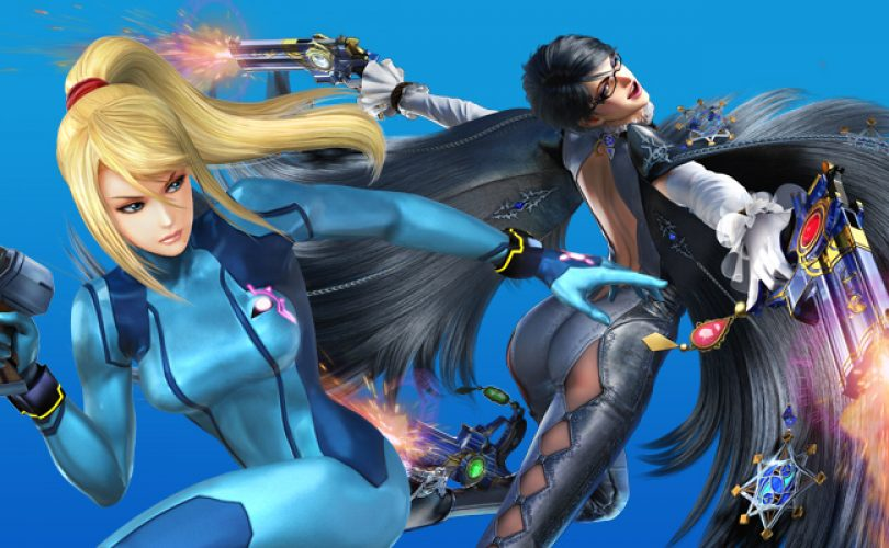 super smash bros samus bayonetta cover