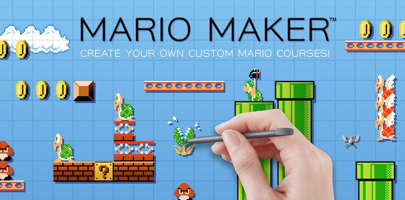 mario maker cover E3