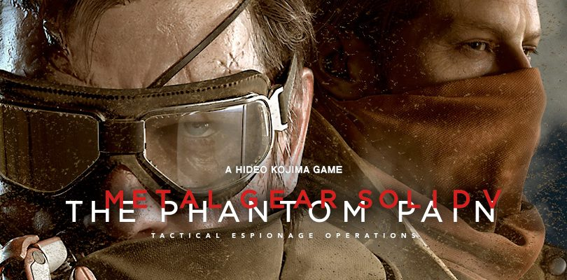 metal gear solid the phantom pain cover E3