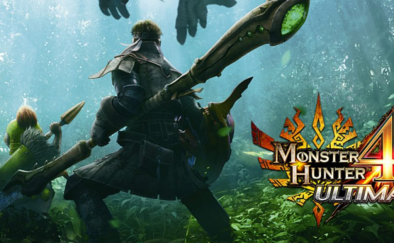 monster hunter 4 ultimate E3 cover