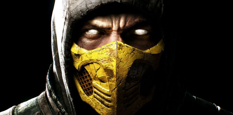mortal kombat x scorpion cover