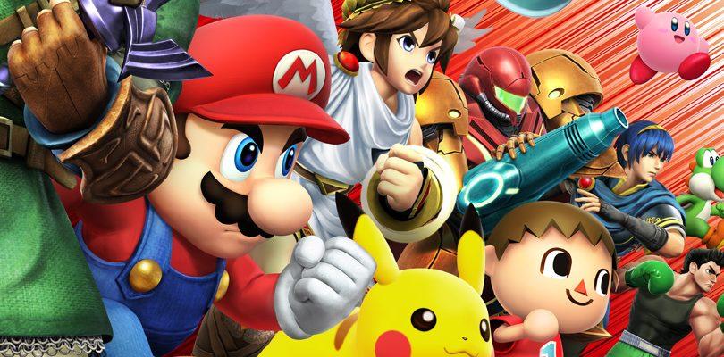 super smash bros 3DS cover E3
