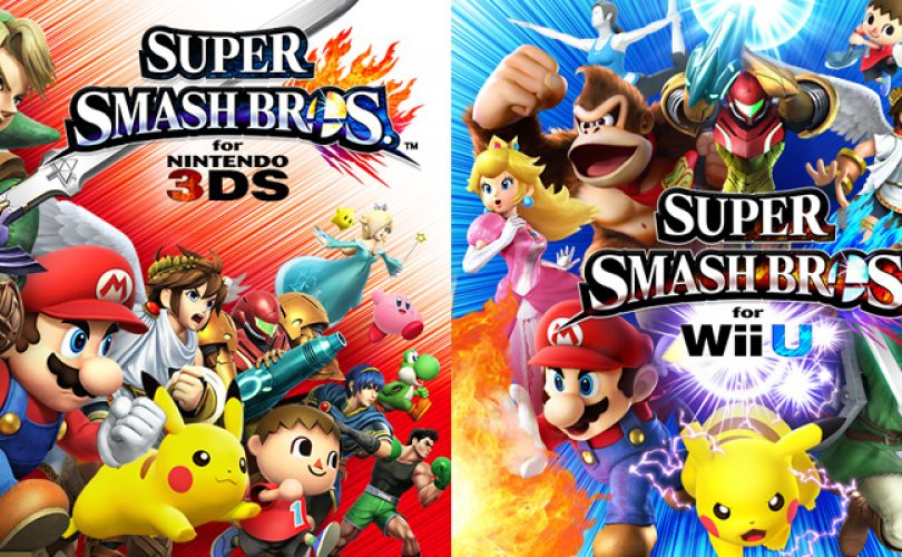 super smash bros wii u 3DS characters cover