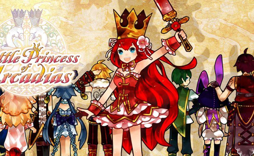 battle princess of arcadias recensione cover