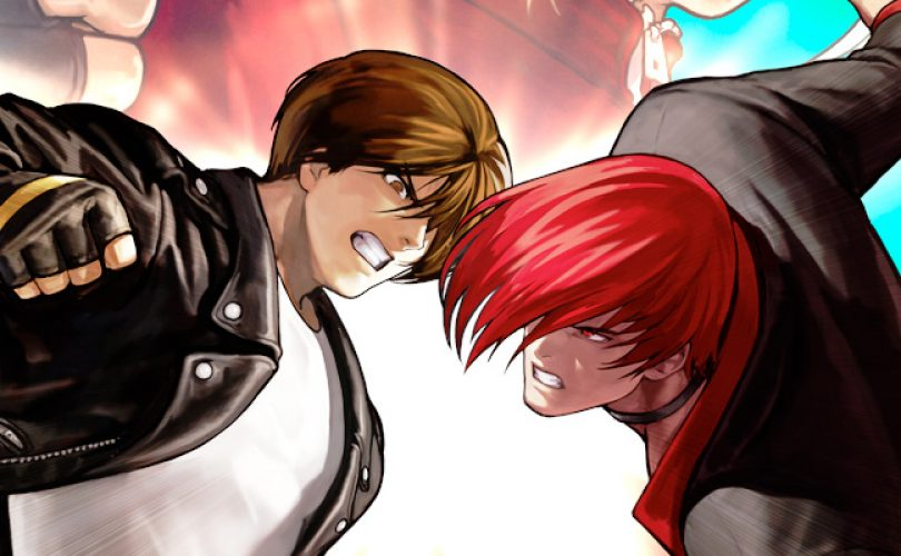 king of fighters cover