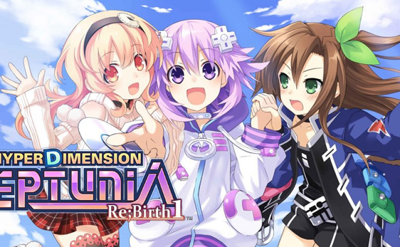 hyperdimension neptunia rebirth1 recensione cover