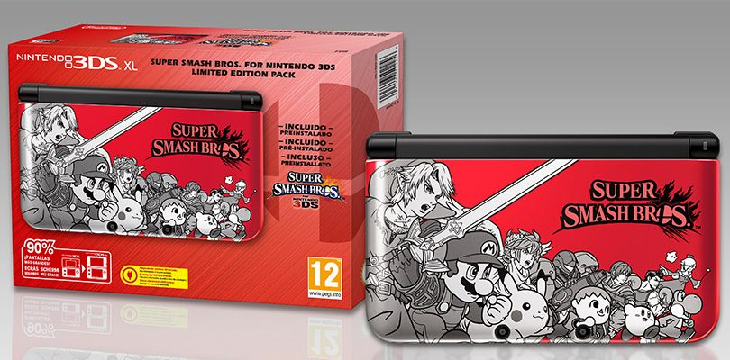 super smash bros limited edition 3dsxl cover