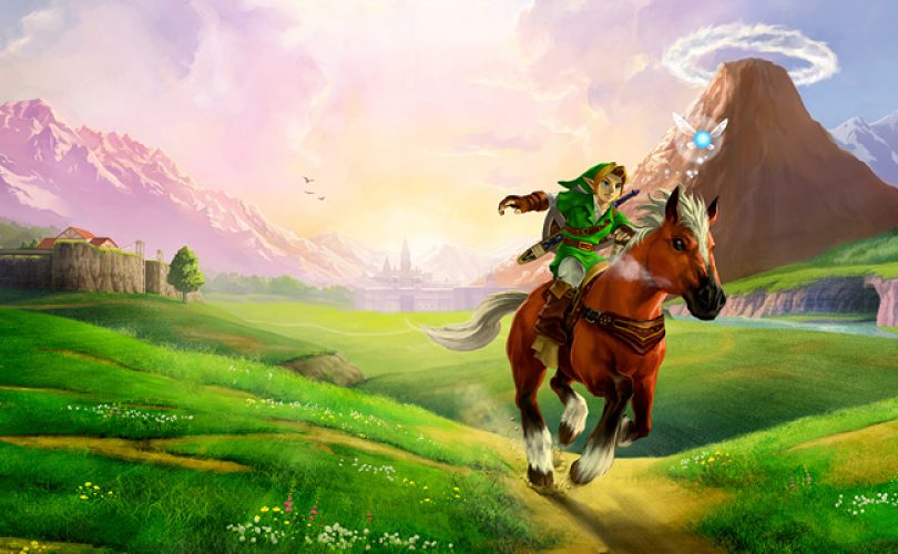 zelda ocarina of time cover