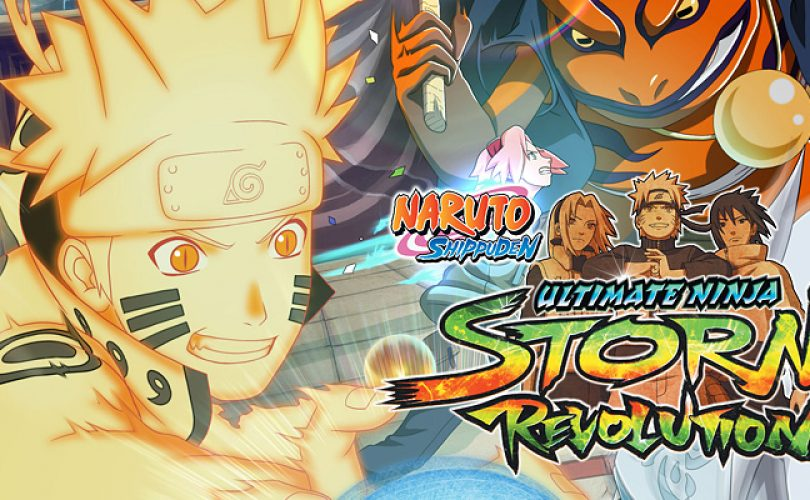 naruto shippuden ultimate ninja storm revolution recensione cover