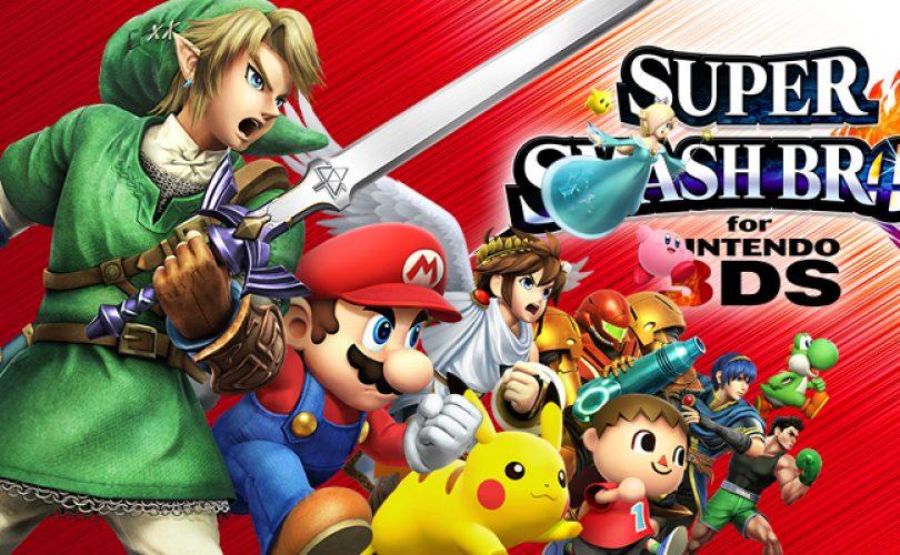 super smash bros for nintendo 3DS recensione cover