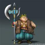 dragon quest heroes character model 05