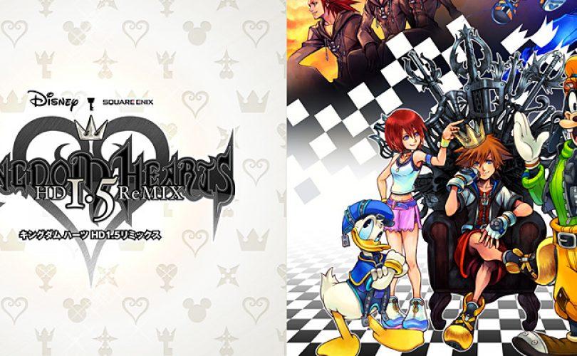 kingdom hearts 1 5 hd remix recensione cover