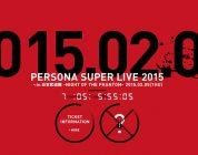 persona super live 2015 cover