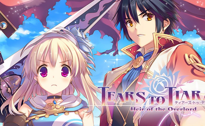 tears to tiara II heir of the overlord recensione cover