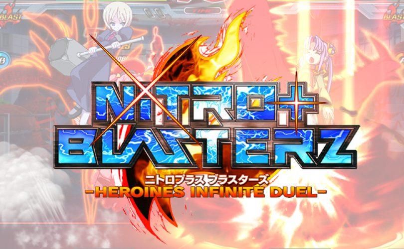 Nitroplus Blasterz -HEROINES INFINITE DUEL-: prime immagini per la versione home console