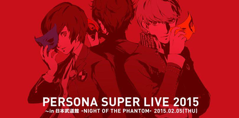 Persona Super Live 2015 -Night of the Phantom-: Il protagonista di Persona 5 appare sul sito ufficiale