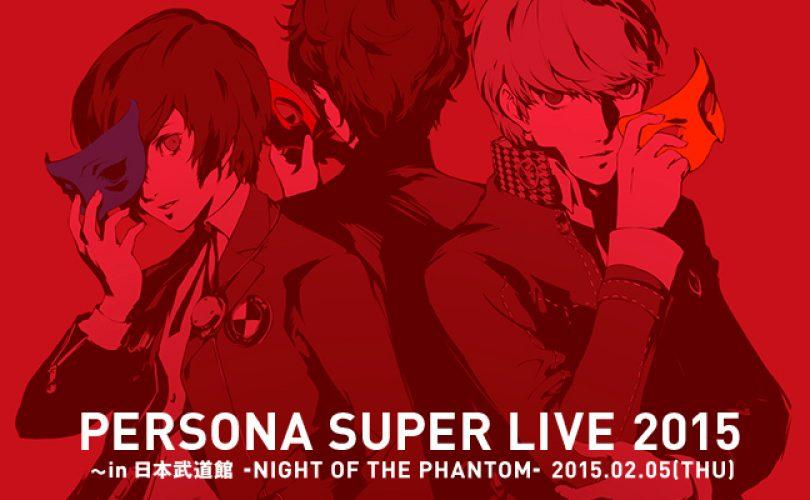 Persona: un livestream annunciato per il 4 febbraio