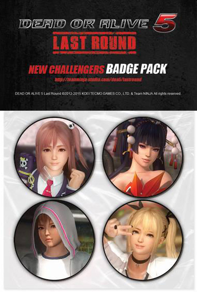 dead-or-alive-5-last-round-new-challengers-badge-pack